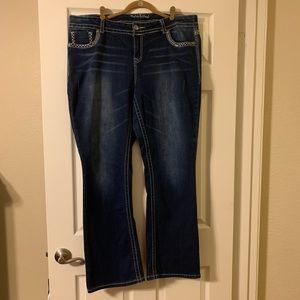 Maurices' Boot Cut Jeans in size 20
